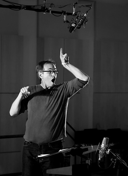 Dwayne Conducting NY Film Chorale at Legacy