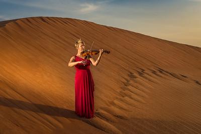 The violinist ... Al Ain ... UAE