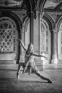 The Ballerina ... Central Park ... New York