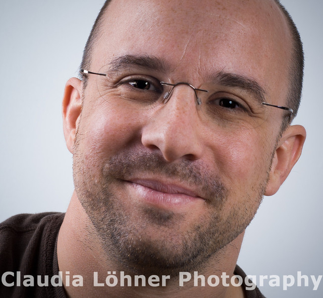 November 2004: This is one of my first portraits taken with the Hensel Studio Lighting equipment.
