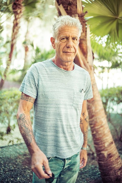 My Last Photo Of Anthony Bourdain