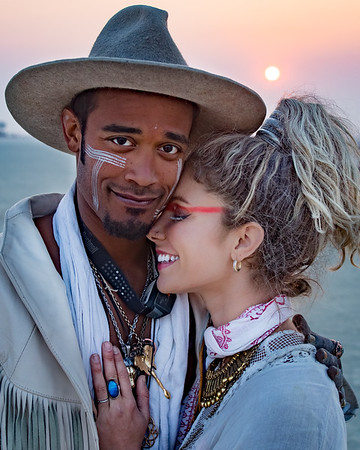 Portraits at Burning Man