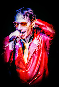 Rock singer, San Francisco.