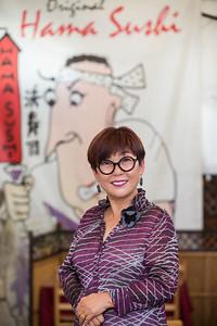 Hama Sushi's Esther Chaing.  © VenicePaparazzi.com