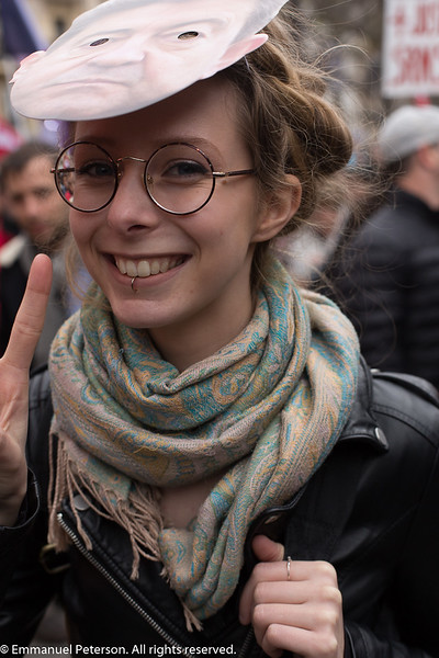 Paris, marche de la France Insoumise