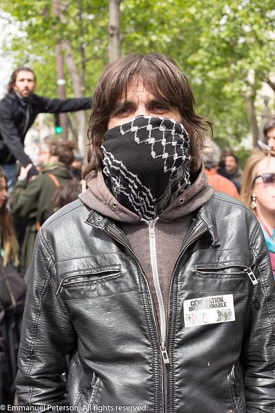 Paris, manisfestation du 1er mai