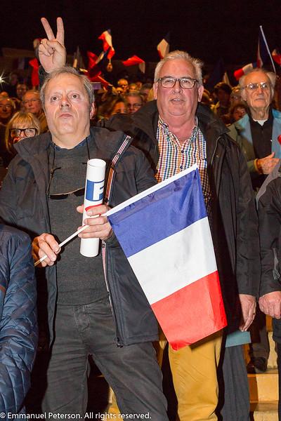 Caen, meeting de François Fillon