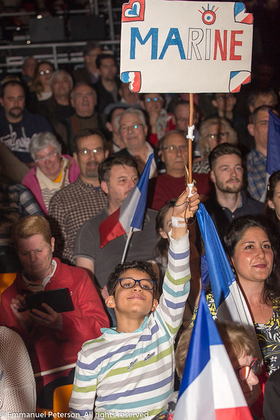 Chateauroux, meeting de Marine Le Pen