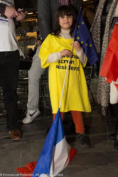 Lyon, meeting d'Emmanuel Macron