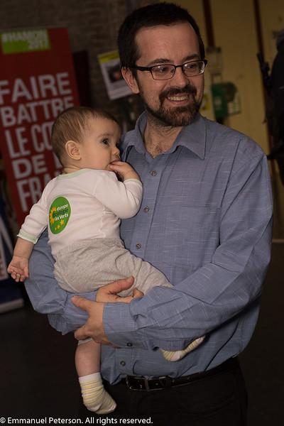 Le Havre, meeting de Benoît Hamon