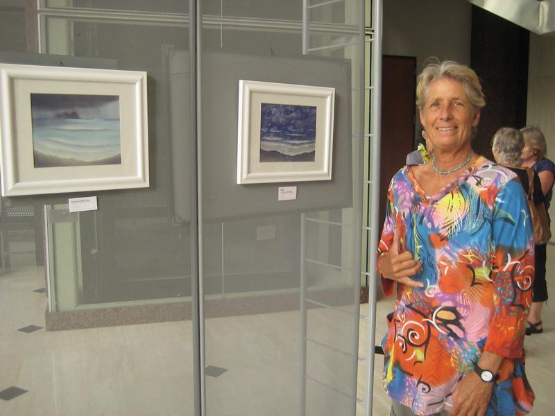 WINDWARD WINTER SERIES<br /> Soft Pastels  2012<br /> Pastel Artists of Hawaii <br /> 2102 Member's Exhibition<br /> Honolulu, HI