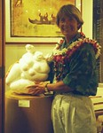 THE FAT GODDESS SINGS<br /> Alabaster<br /> Guest Artist Show<br /> The Gallery at Ward Centre<br /> Honolulu, HI