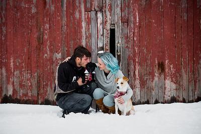 Arlynn, Dave, & Puppies