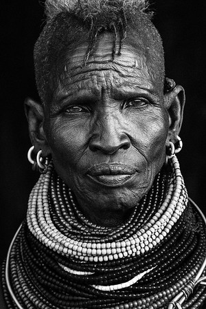 My favourite lady of the whole Turkana trip. She exuded kindness and was the epitome of Zen-ness