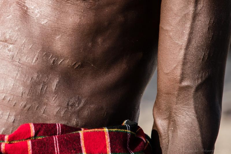 Scarification Turkana-style