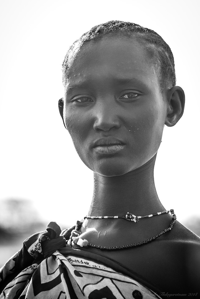 Iman was 'discovered' in Nairobi by the photographer Peter Beard