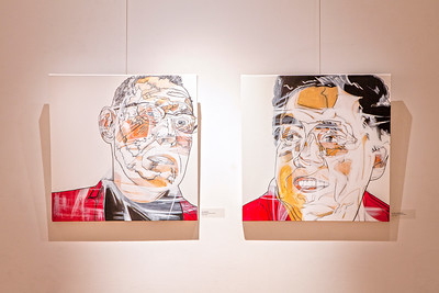 """Portraits from Sainsbury's"" exhibition at the Mosaic Rooms in London"