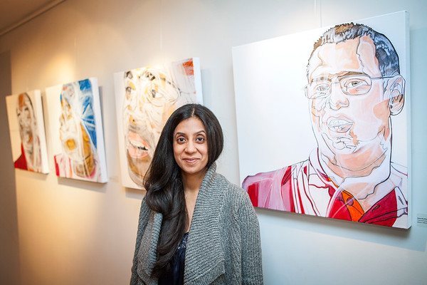"""""""Portraits from Sainsbury's"""" exhibition at the Mosaic Rooms in London"""