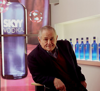Maurice Kanbar, philanthropist, inventor, producer, and creator of Skyy Vodka