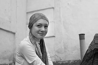 Tatar Girl at Kazach border