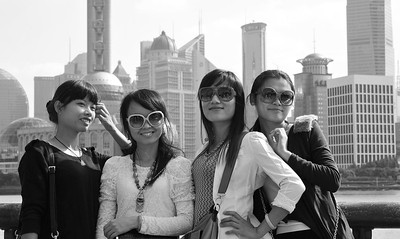 Quartet 2: tourists in Shanghai