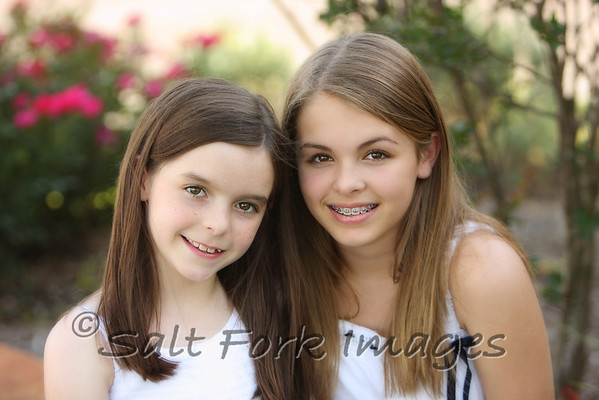 Two pretty little girls....