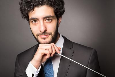 Marc, chef d'orchestre