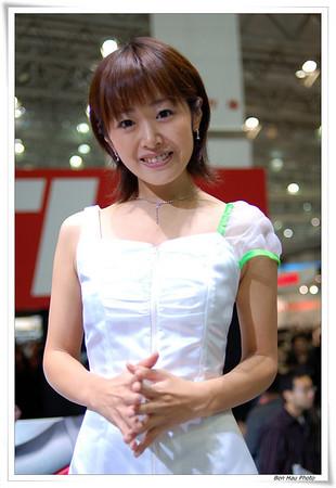 2007 Tokyo motor showgirl