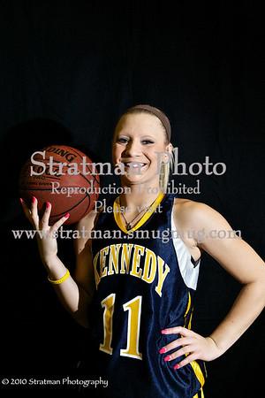2010-11-23 JFK Basketball Girls
