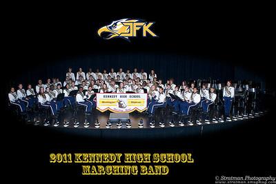 2011-10-11 JFK Marching Band