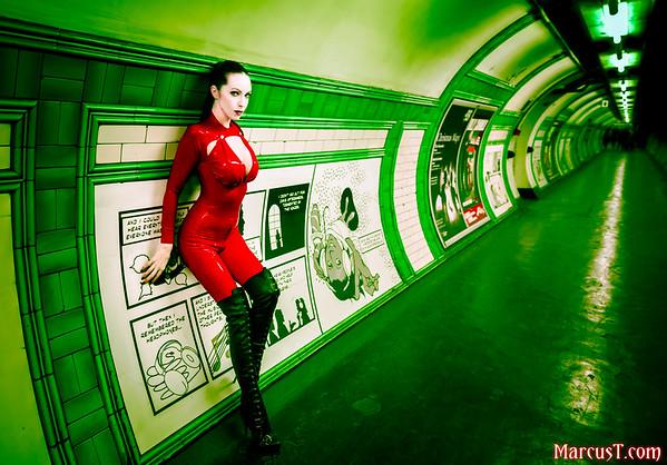 Model: Emily Marilyn Latex: Cathouse Clothing Photographer: MarcusT