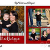 Card Sample Red dots and stripes