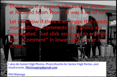 mom prom advert for gallery