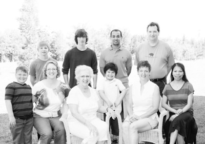 2012 Tracey family visit