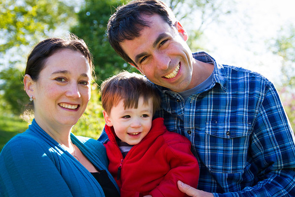 The Coleman Family at the Arboretum