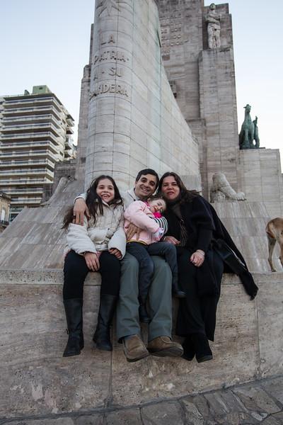 Argentina Staff Portraits<br /> Pablo Moreno Family