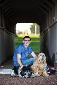 Nick Howell Senior Pictures
