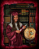 2014 Grad with globe_LeNae Stern