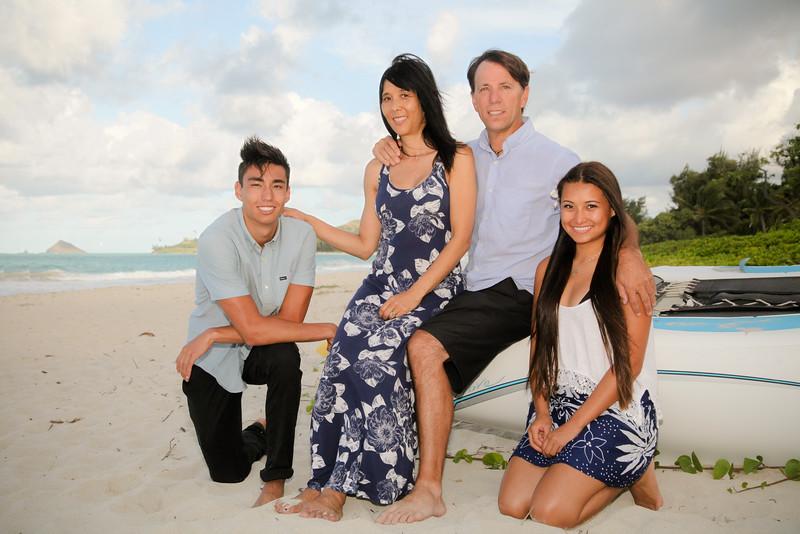 Family Photoshoot at Kalama Beach Park