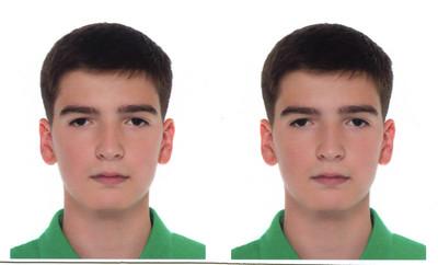 2014-09-06, Portrait of Ilia for Russian passport