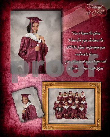 2015 Grad collage_Skylia Day
