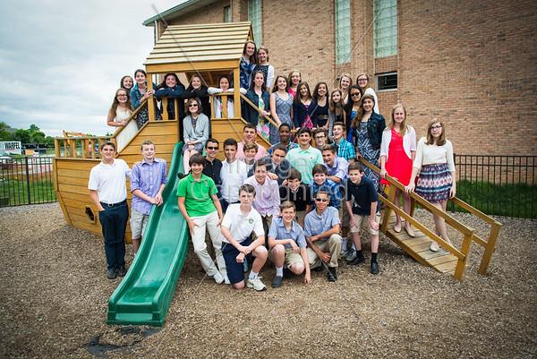 2015 St Leo Graduating 8th Grade Class