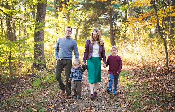 Morin Family in Newton