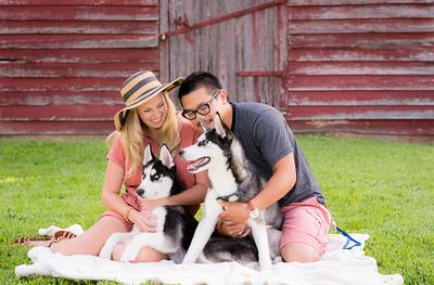David, Jessica, Landon, & Maximus
