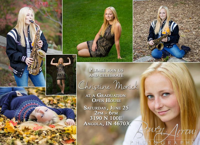 Christine Morick 2016 Invite Front 002