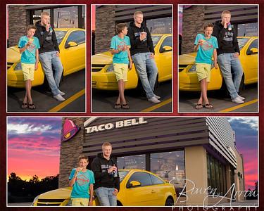 Jay Krebs 2017-Taco Bell Collage