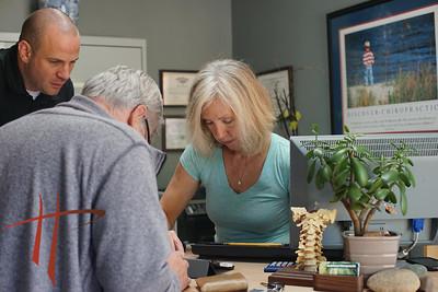 Portraits, chiropractor