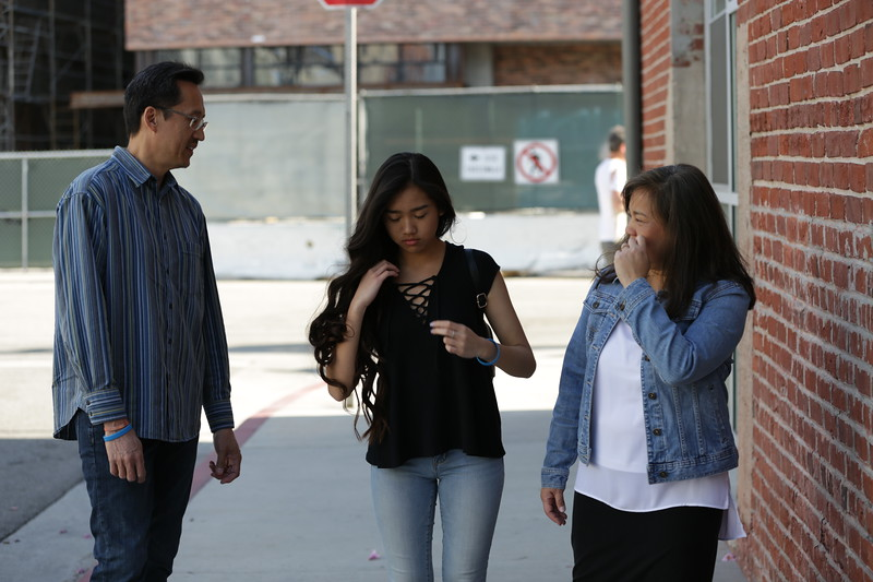 Dypiangco Family<br /> <br /> Downtown Los Angeles Arts District