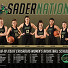 2018-19 Women's Basketball Poster
