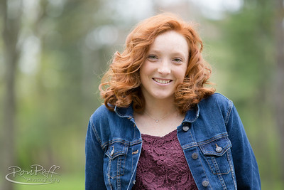 Morgan Gardner. Senior Photo Session.